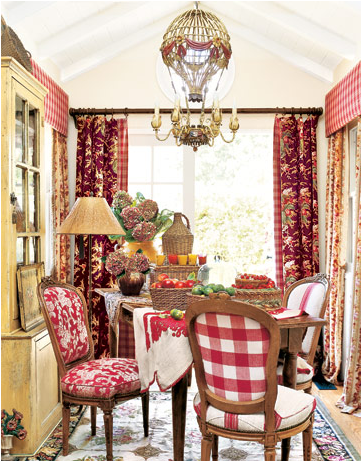 French country dining room design ideas room design for Country dining room decor