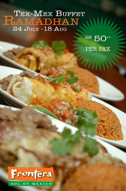 TEX MEX BUFFET AT FRONTERA BAR & GRILL, JAYA ONE