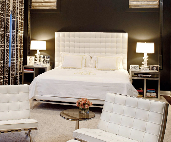 habitaciones con estilo dormitorio color marr n chocolate