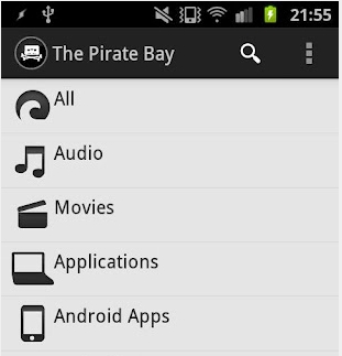 the pirate bay download android