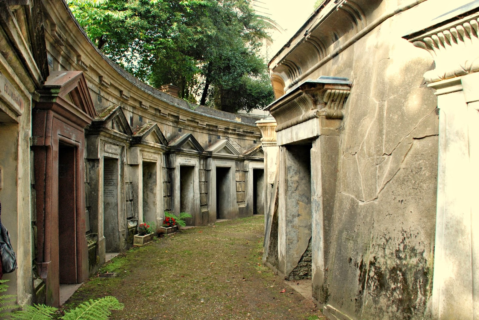 The Circle of Lebanon, Highgate Cemetery, London