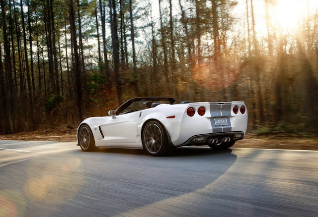 Chevrolet Corvette 427 Convertible 2013 side