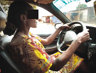 The Special Ways We Use In Attracting Passengers – Lagos Female Taxi Drivers Share Their Stories