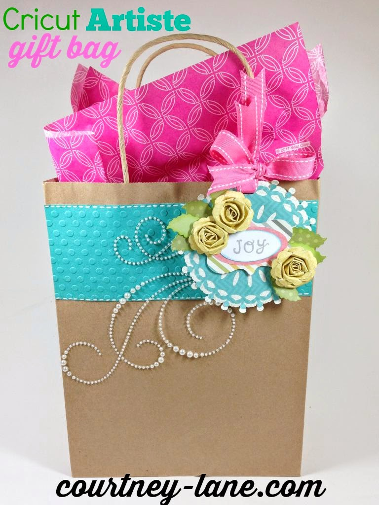 Cricut Artiste Gift bag