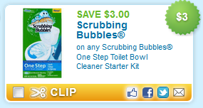 Scrubbing Bubbles Toilet Kit Coupon