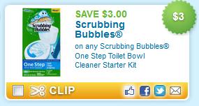 Scrubbing Bubbles Toilet Kit Coupon