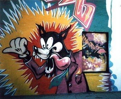 20 Cartoon Graffiti Wall Picture