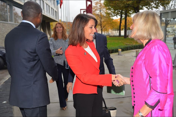 Princess Marie of Denmark as the patron of the Danish National Commission for UNESCO, attended the 70th Anniversary History Conference