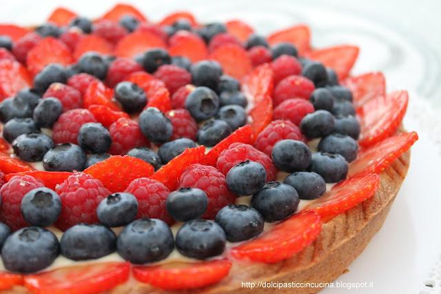 ricetta crostata frutta