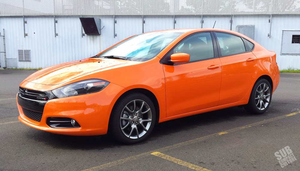 2014 Dodge Dart SXT Rallye in Header Orange