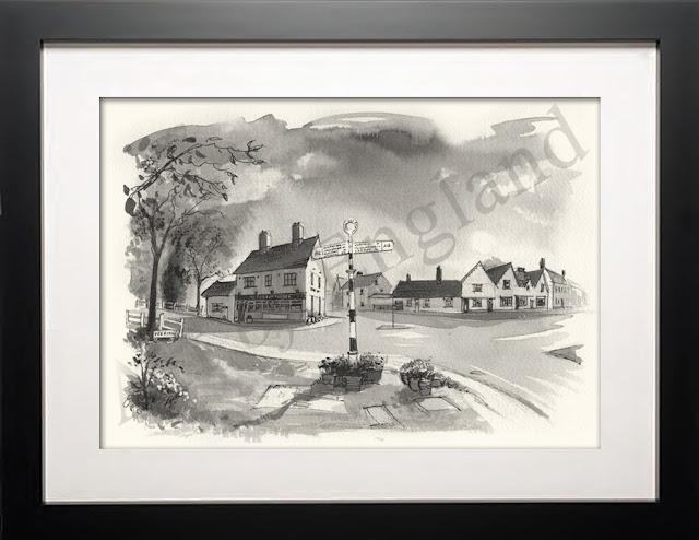 Kelvedon Essex illustration