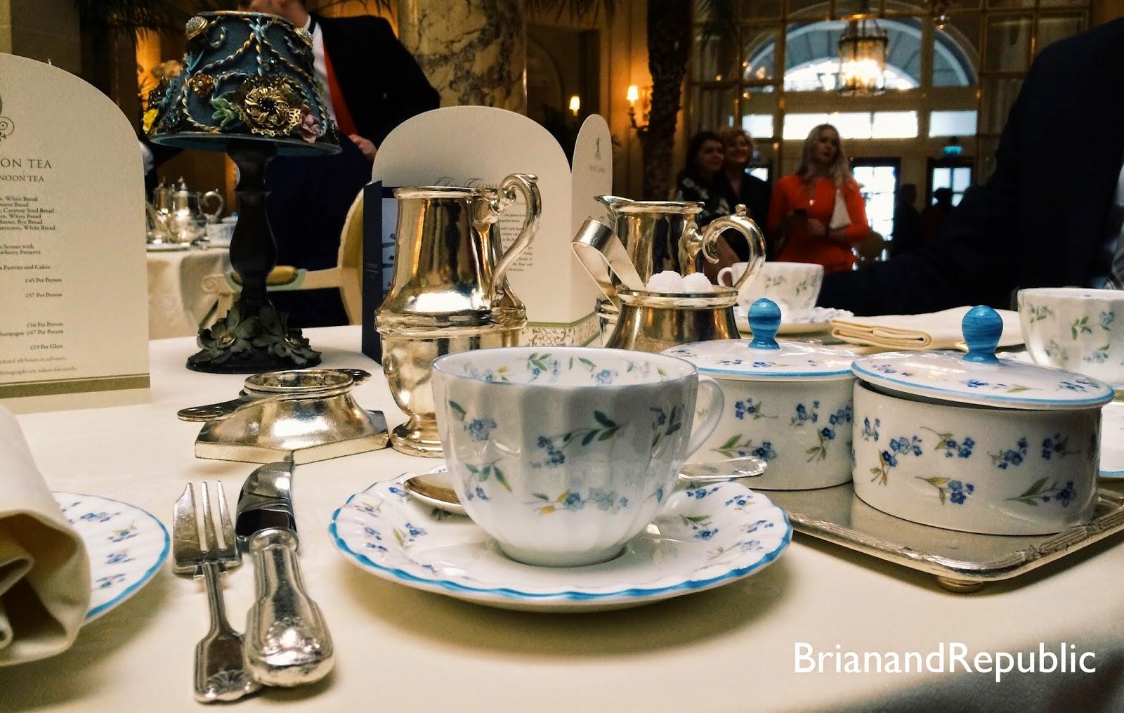 Tea at the ritz dress code