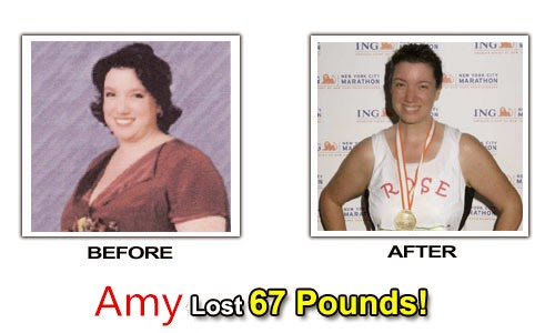 Amy use Lingzhi tea lose weight succeed