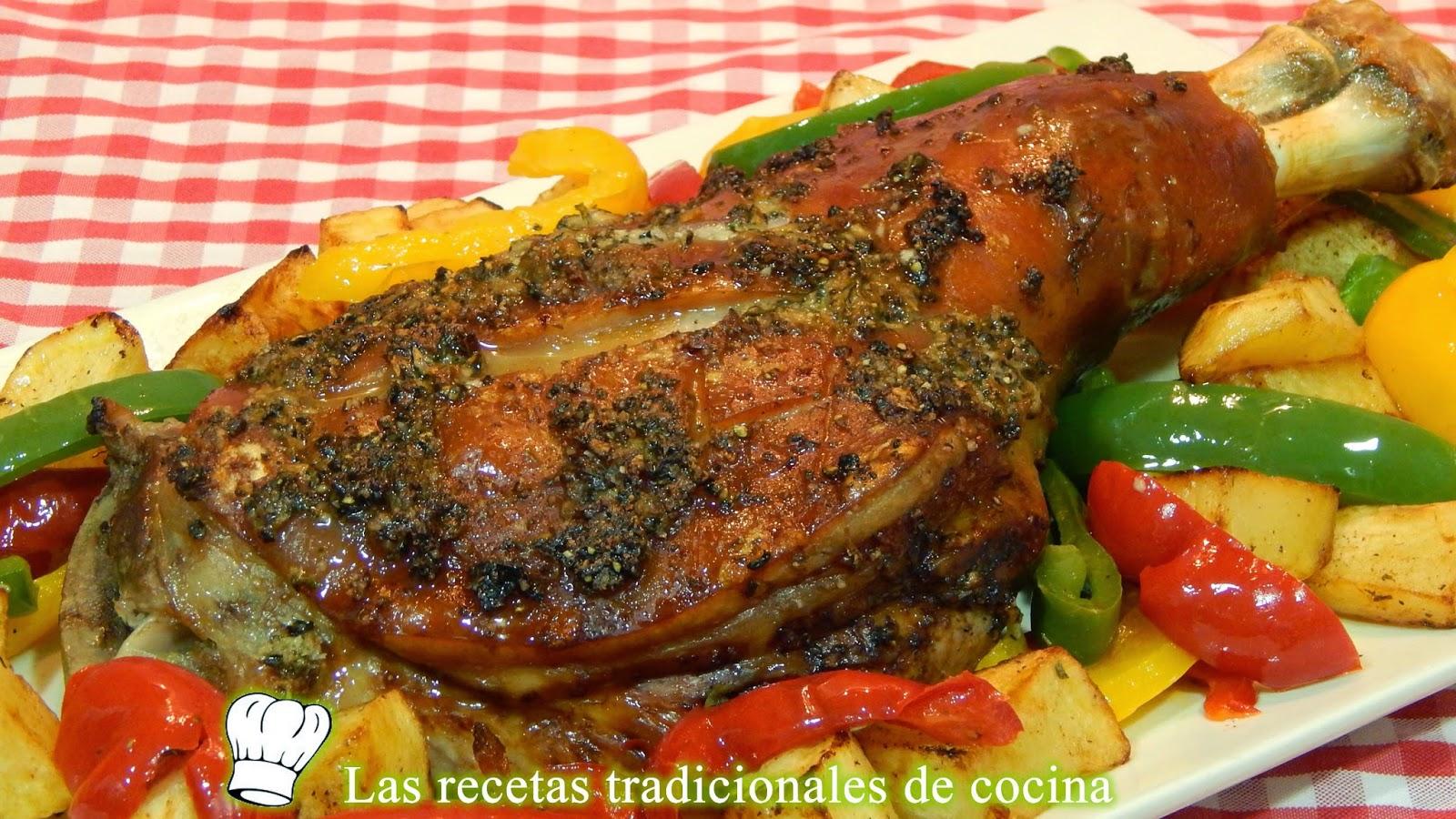 Como Cocinar Un Cochinillo | Receta De Paletilla De Cochinillo Al Horno Recetas De Cocina Con