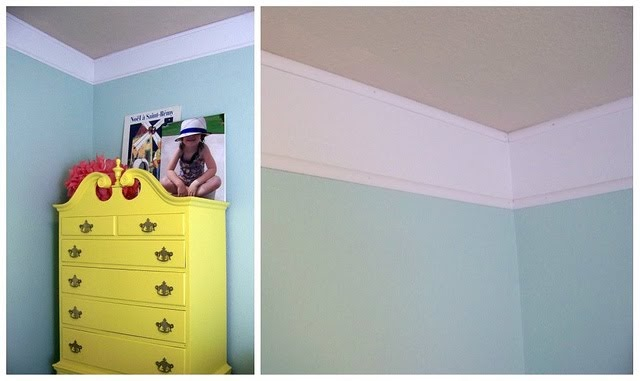 Someday Crafts: Faux Crown Molding