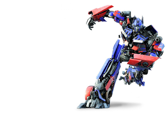 Optimus Prime, transformers, robot, 3d