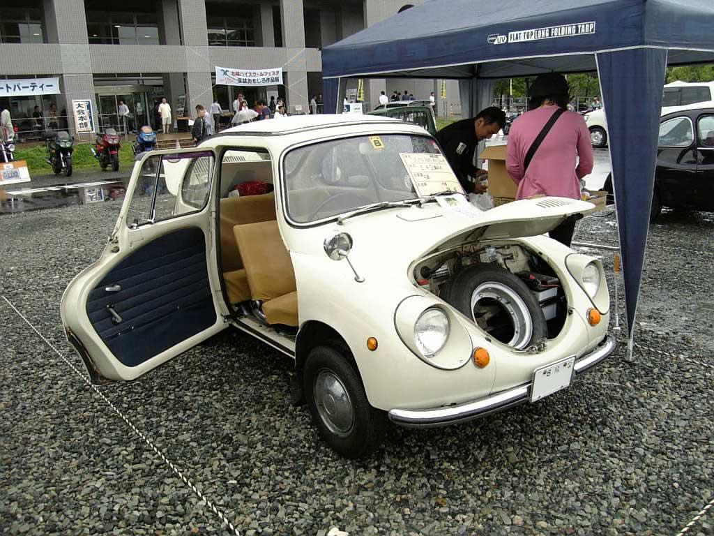 Subaru 360, klasyk, stary, old car, retro, mały samochód, kei car, 軽自動車