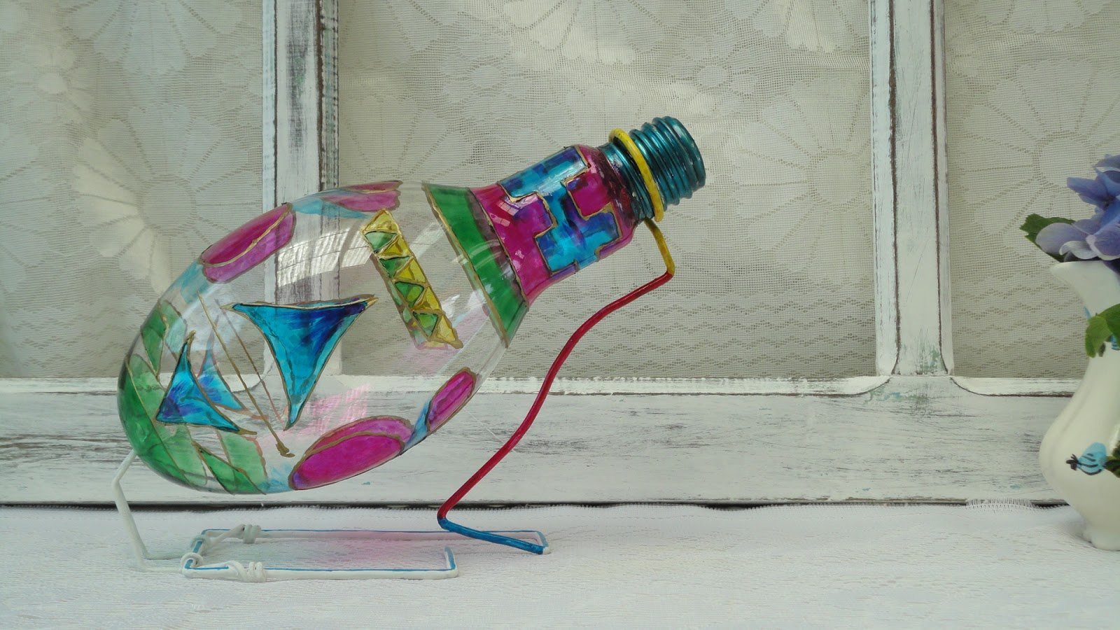decoracao em lampadas:Espaço Livre Decoração: Lâmpada Decorada I