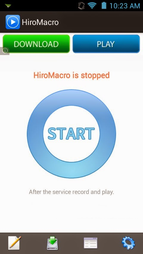 Hiro Macro Application Hack COC