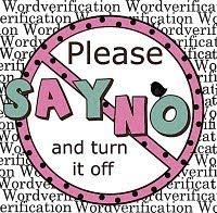 Zet je woordverificatie af!