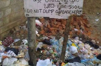 Epic Fails 2014 Extreme Funny Funny Garbage Sign Epic Fail