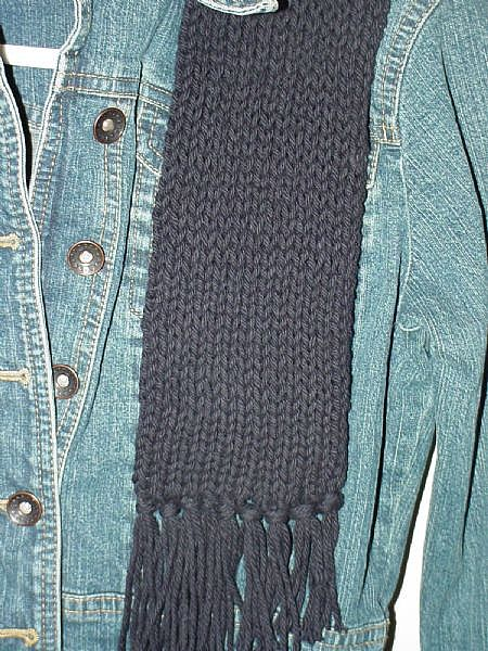 http://www.squidoo.com/how-to-knit-a-scarf-on-the-knifty-knitter-looms-no-wrap-stitch
