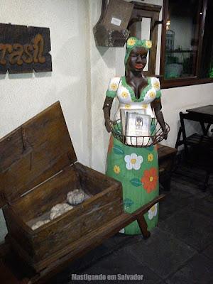 Maria da Lenha: entrada