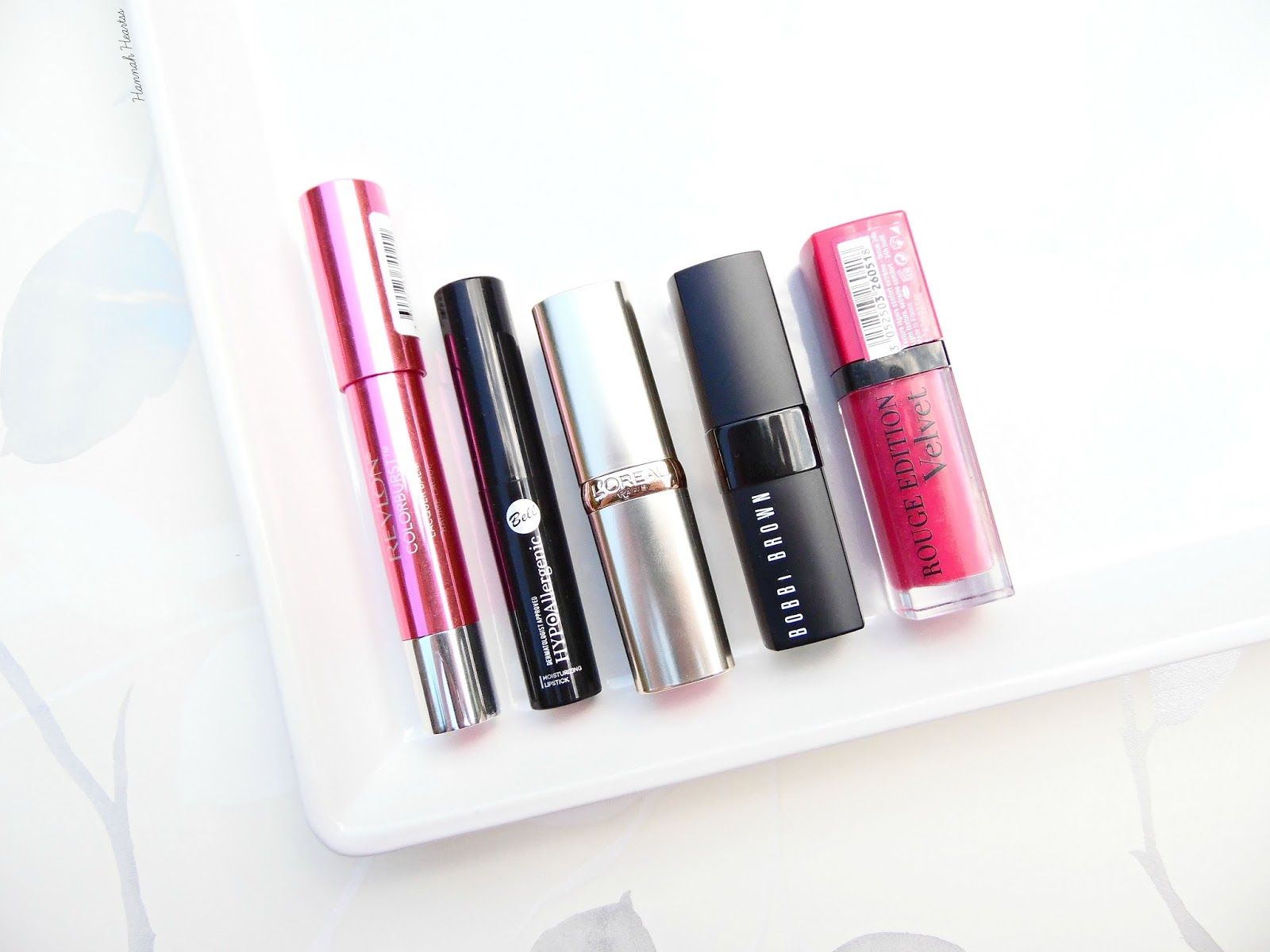 Top Five Bright Pink Lip Shades