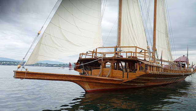 Gambar Kapal Layar perang Galleas