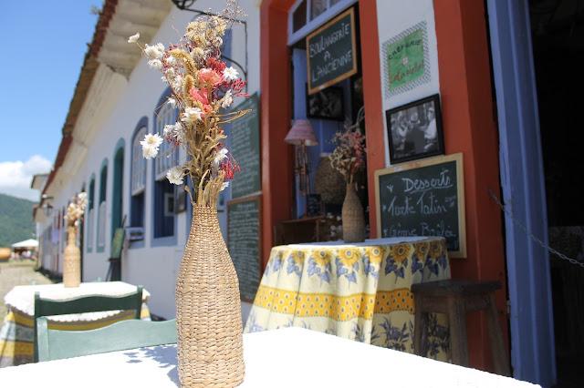 Paraty, Centro histórico, Rio, le Castellet Creperie Paraty, Creperia Paraty