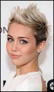 celebrity short hairstyles for oval faces