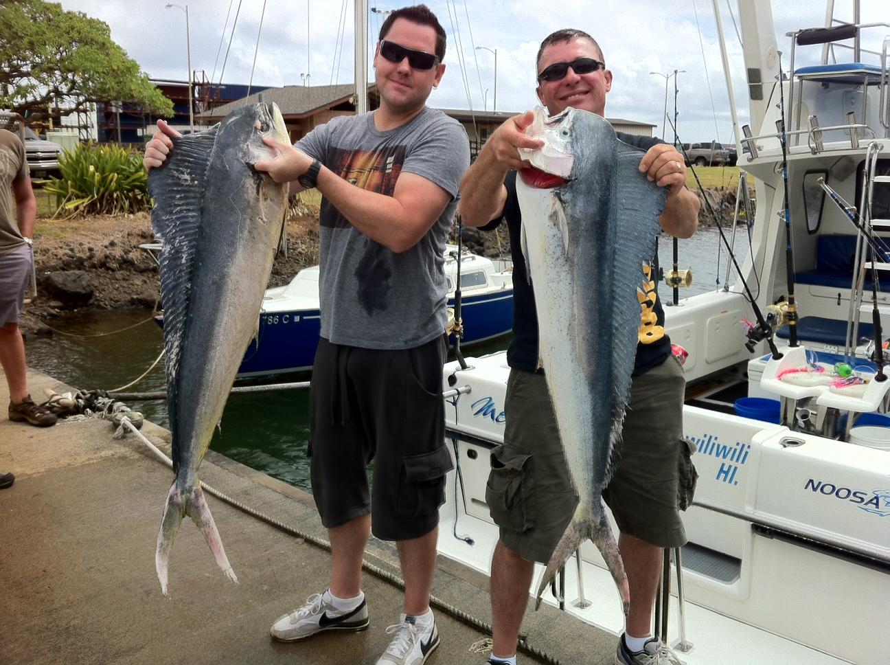 c lure fishing chaters kauai hawaii kauai fishing report