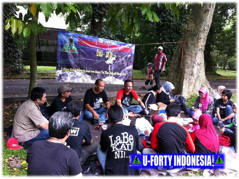 KOMUNITAS PENDAKI GUNUNG INDONESIA usia 40 tahun keatas : SEJARAH TERBENTUKNYA UFORTY INDONESIA