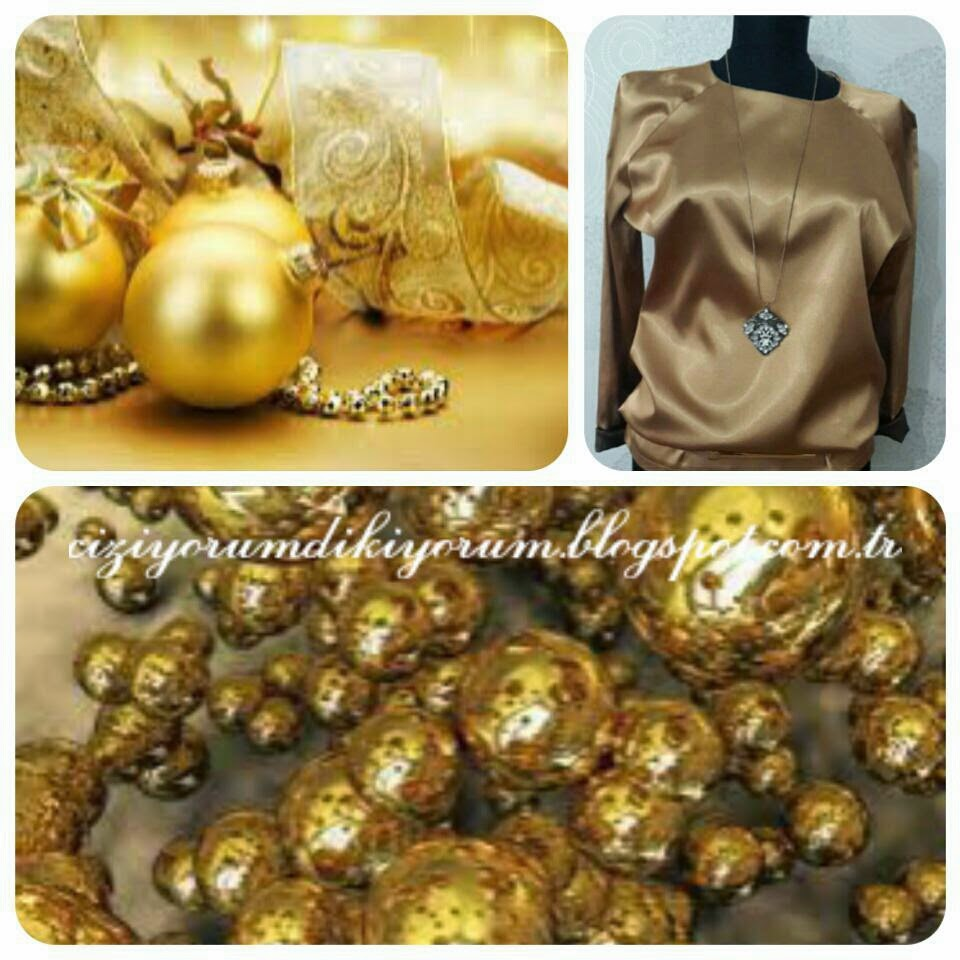 ALTINDAN BLUZ :) (THE GOLDEN BLOUSE:))
