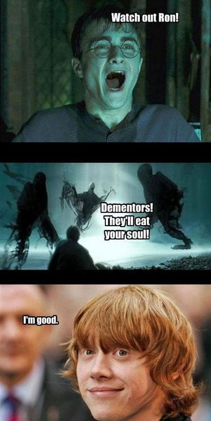 Watch Out Run - It's Dementors!