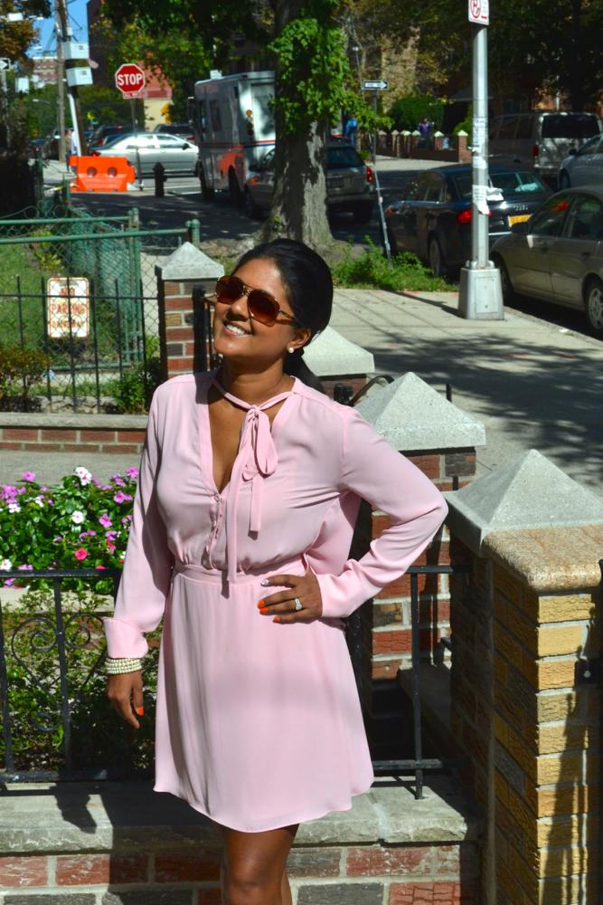 Pretty in Pink BCBG Astoria in Heels