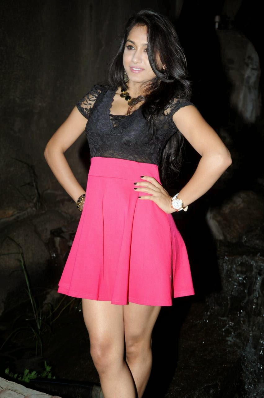 Smithika Spicy babe in Red Skirt at Adi Lekka Audio Launch