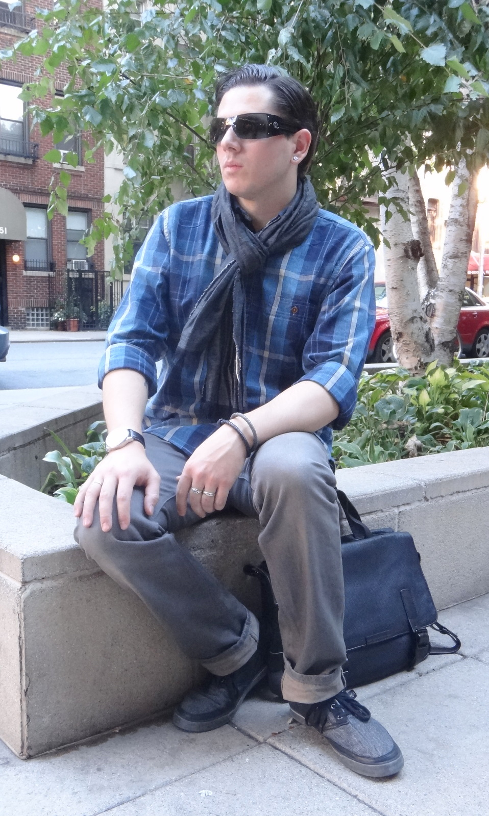 a82738a7a8 The Shy Stylist - a men s style blog  Style Feature  The Fall Scarf