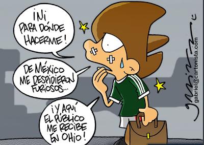 México en busca de Brasil 2014 vs Estados Unidos