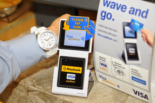 Visa and Maybank Pilot Asia's First Contactless Payment Watch