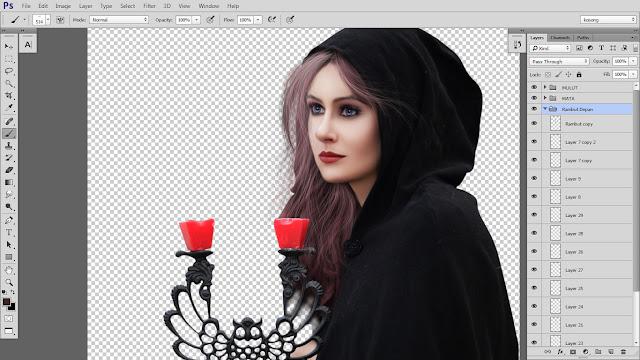 22 Design cover buku Novel dengan Photoshop CC