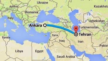 Ankara-Tahran Uçak Seferleri