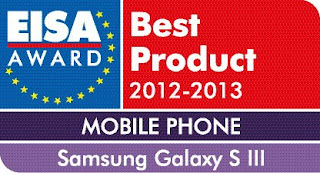 Samsung Galaxy s3 EISA Award Winner
