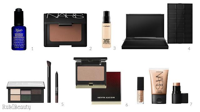 ideas regalar regalo navidad christmas cosmetica maquillaje nars mac