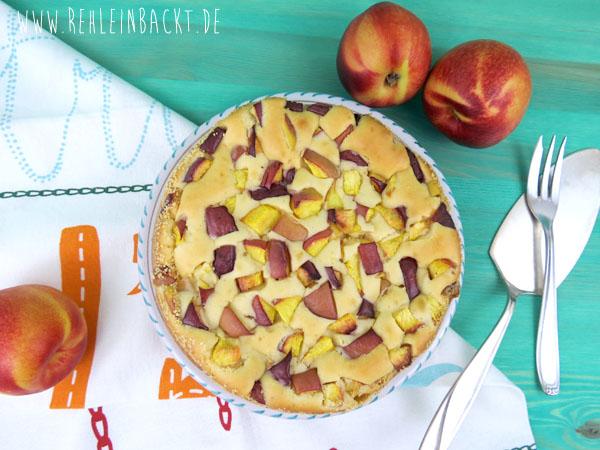 Joghurtküchlein mit Nektarinen | Foodblog rehlein backt