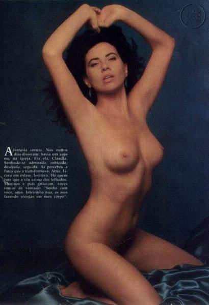 Claudia Alencar na Playboy