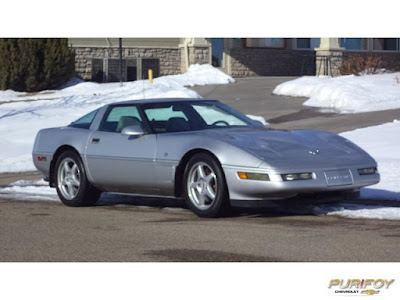 1996 Chevrolet Corvette at Purifoy Chevrolet