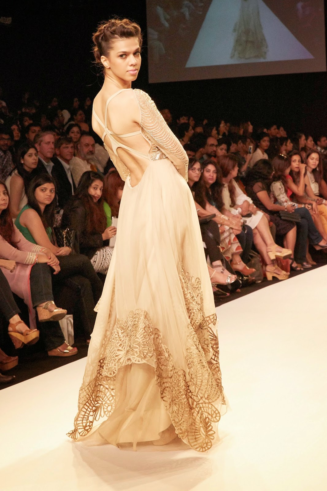JADE by Karishma and Monica at Lakme Fashion Week Summer/Resort 2014