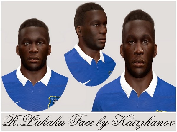 PES 2014 R.Lukaku Face by Kairzhaov