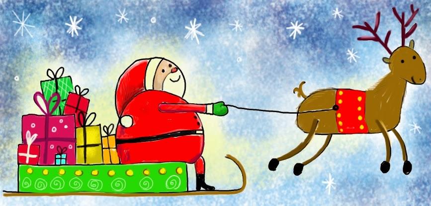Tempo Libero Disegnamo Assieme Babbo Natale